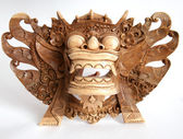 Traditional Indonesian (Balinese) mask — Стоковое фото