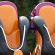 Armchairs of an attraction — Stockfoto