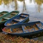 Moscow, Russia, pleasure boats — Stock Photo #2616014