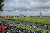 Folklore village Zaanse Shans, Holland — Stock Photo