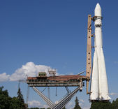 Large image rocket Vostok (Russia) — Stock Photo