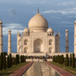 Stock Photo: Mausoleum Taj Mahal, Agra, India