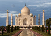 Mausoleum Taj Mahal, Agra, India — Stock Photo