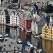 Aalesund Inner Harbour — Stock Photo