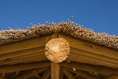 Palapa roof — Stock Photo