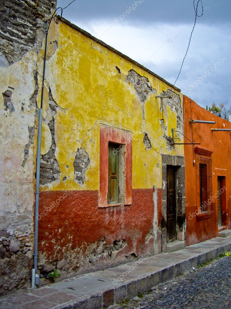 Colorful Mexican Houses Mexican houses - stock image: galleryhip.com/colorful-mexican-houses.html