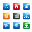 Set of e-commerce icons — Stock Photo #2565331