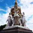 Prince Albert Memorial in London — Stock Photo