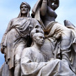 Statues of the Prince Albert Memorial — Stock Photo
