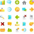 Stock Photo: Icons set
