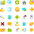 Icons set — Stockfoto