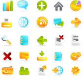 Icons set — Stock Photo