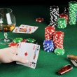 Card play - Stock Photo