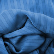 Royalty-Free Stock Photo: Blue fabric close up
