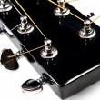 Headstock of acoustic guitar — Stock Photo #2645228
