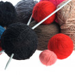 Threads for knitting — Stock Photo