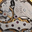 Old watch gears close up - Stock Photo