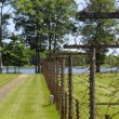Royalty-Free Stock Photo: Lake and fence