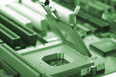 Computer Central processor — Stock Photo
