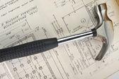 Metal hammer — Stockfoto
