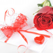 Rose and letter — Stock Photo #2653538