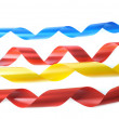 Color ribbons — Stock Photo