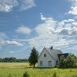 House in the country — Stock Photo