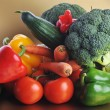 Vegetables on table — Stock Photo #2657732