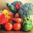 Vegetables on table — Stock Photo #2657782