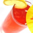 Glass with drink — Stock Photo #2658309
