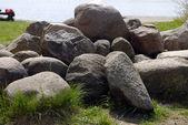 стек больших камней — Стоковое фото