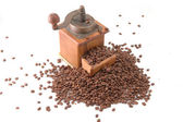Retro coffee grinder — Stock Photo