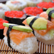 traditionele Japanse sushi — Stockfoto