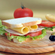 Fresh and tasty sandwich — Stock Photo #2663066