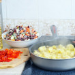 Royalty-Free Stock Photo: Preparation of  ragout