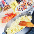 Preparation of  ragout - Stock Photo