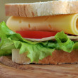 Fresh and tasty sandwich — Stock Photo #2663393