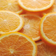 Background made of juicy oranges — Stock Photo #2672194