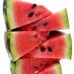 Sliced watermelon close up — Stock Photo