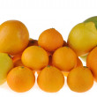 Tangerine, lemon and grapefruit — Stock Photo