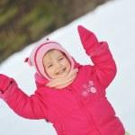 Little girl in winter parka — Stock Photo #2674002