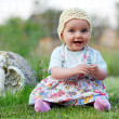 Beautiful little girl — Stock Photo #2674113