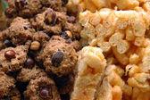 Печенье с орехами — Стоковое фото