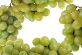 Marco hecho de uva fresca y sabrosa — Foto de Stock