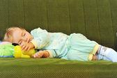 Niña durmiendo — Foto de Stock