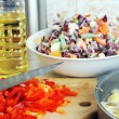 Stock Photo: Preparation of ragout