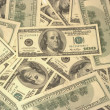 American dollars background — Stock Photo