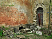 Old courtyard house — Stockfoto
