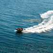 Speedboat on the sea — Stock Photo