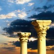 Stock Photo: Antique columns
